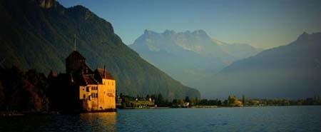 اخبار , اخبار گوناگون,دریاچه ژنو سوئیس,تصاویر دریاچه ژنو سوئیس