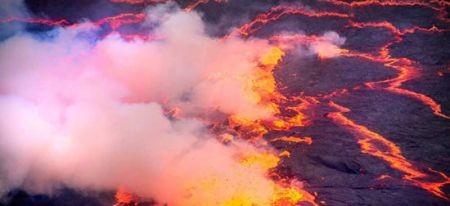 اخبارگوناگون,خبرهای گوناگون,دریاچه ای از آتش