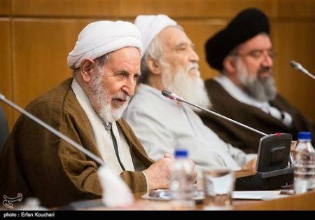 9412 25t2739 آیت الله جنتی در جلسه عصر مجلس خبرگان (عکس)