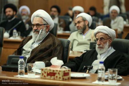9412 25t2741 آیت الله جنتی در جلسه عصر مجلس خبرگان (عکس)