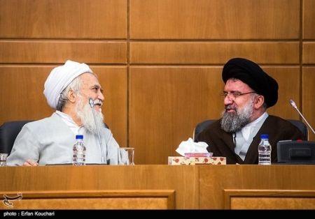 9412 25t2749 آیت الله جنتی در جلسه عصر مجلس خبرگان (عکس)