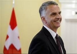 رئیسجمهور سوئیس جمعه به تهران میآید