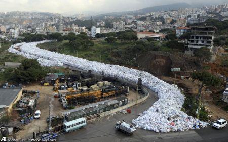 اخبار اجتماعی  ,خبرهای اجتماعی,زباله های شهر بیروت لبنان