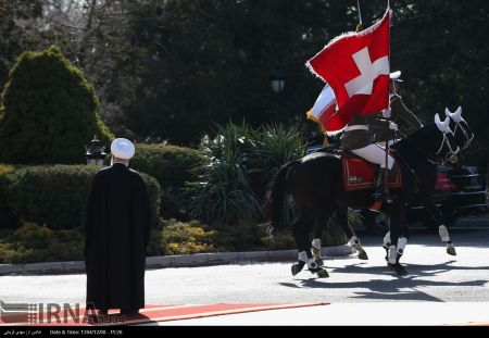 اخبارسیاست خارجی ,خبرهای سیاست خارجی , استقبال رسمی از رییس جمهوری سوئیس