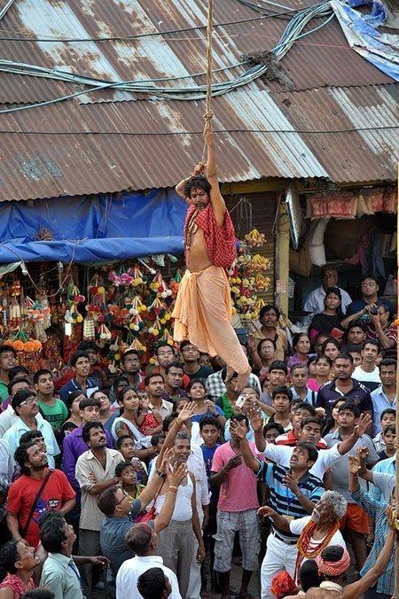 عکسهای جالب,جشنواره هندوها,تصاویر جالب
