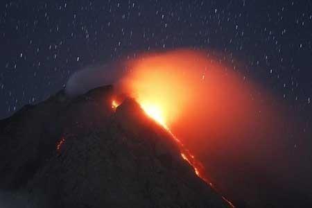 عکسهای جذاب,تصاویر دیدنی,فعالیت آتشفشانی