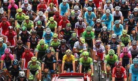عکسهای جالب,تصاویر دیدنی,مسابقات دوچرخه سواری