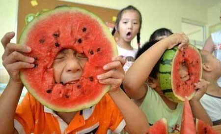 عکسهای جالب,عکسهای جذاب,هندوانه