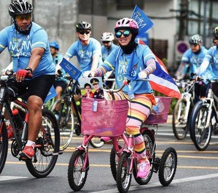 عکسهای جذاب,تصاویر جالب,مسابقات دوچرخه سواری