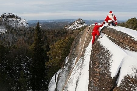تصاویر دیدنی,تصاویر جالب,بابانوئل