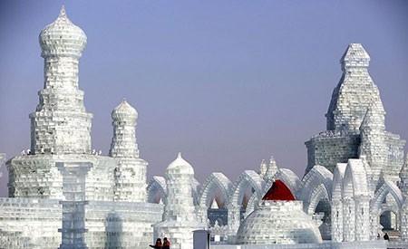 عکسهای جالب,عکسهای جذاب,جشنواره برف و یخ