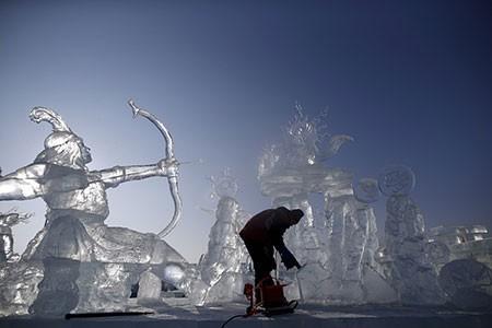 تصاویر دیدنی,تصاویر جالب,جشنواره برف و یخ