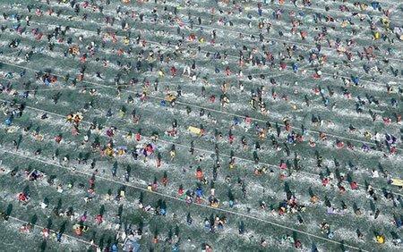 عکسهای جالب,تصاویر دیدنی,دریاچه ای یخزده