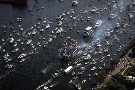 عکسهای جالب,تصاویر دیدنی,جشنواره دزدان دریایی
