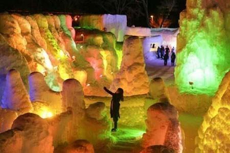 عکسهای جالب,تصاویر جالب,جشنواره یخ