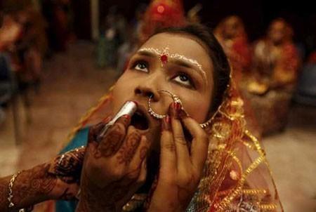 عکسهای جالب,عکسهای جذاب,میکاپ عروس