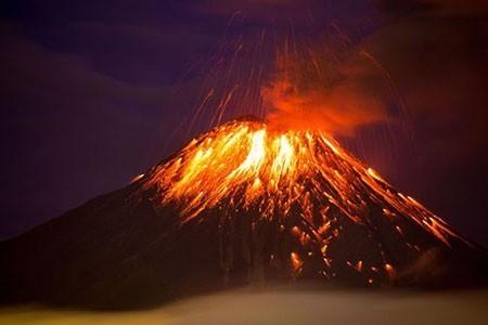 عکسهای جالب,عکسهای جذاب, کوه آتشفشان