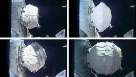 ورود فضانورد ناسا به سکونتگاه فضایی بادشونده