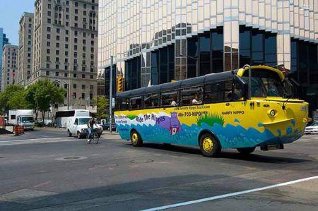 اتوبوسهای دوزیست!+ عکس