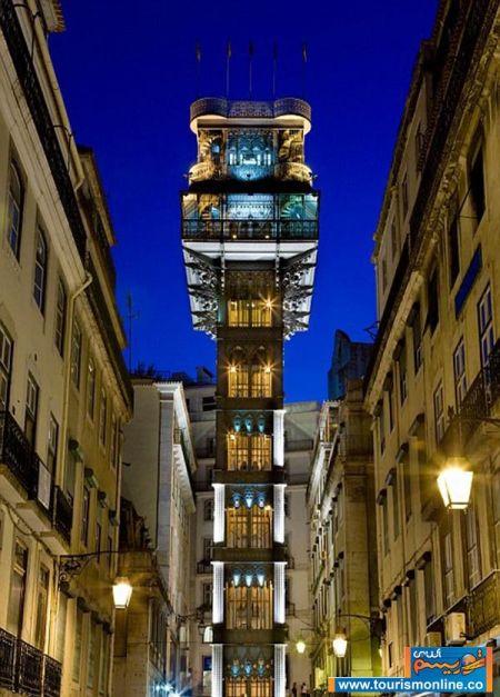 تصاویر آسانسورهای هیجان انگیز در مکان های توریستی
