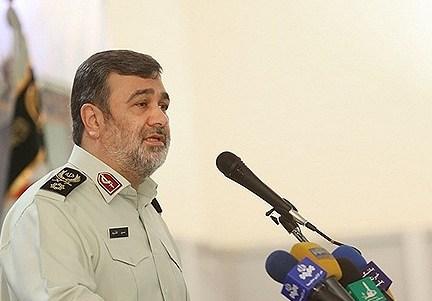 فرمانده ناجا : تکفیری ها و داعش در داخل مرزهای ایران نفوذی نداشتند