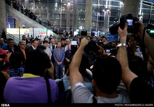 اخبارفرهنگی ,خبرهای  فرهنگی, استقبال انبوه مردم از برگزیدگان ایرانی جشنواره کن 2016