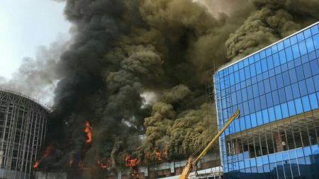 اخبار حوادث,خبرهای حوادث,آتش سوزی سیتی سنتر اصفهان