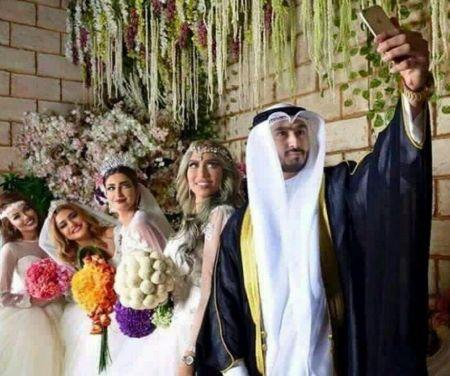 اخباراجتماعی  ,خبرهای  اجتماعی,  ازدواج همزمان یک مرد کویتی با 4 زن