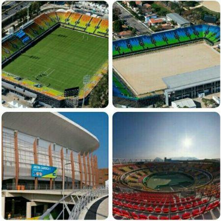 اخبارورزشی ,خبرهای  ورزشی,ورزشگاههای ریو