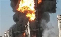 دلیل آتش سوزی مجدد در پتروشیمی بوعلی ماهشهر/ بخشی از حریق مهار شد