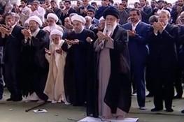 حاشیههایی از همنشینی سیاسیون در نماز عید فطر