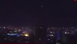 لحظه برخورد بمب با ساختمان پارلمان ترکیه در آنکارا / فیلم