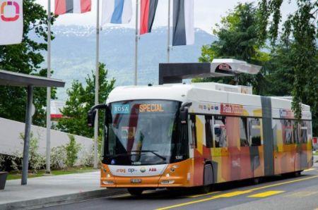 شارژرهای ۱۵ ثانیهای برای اتوبوس شارژی