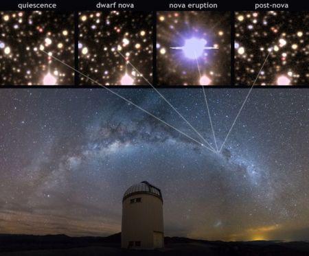 اخبارعلمی,خبرهای علمی,انفجار یک ستاره
