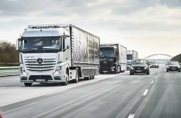 غولهای هوشمند در راه جادهها /ماشین های سنگین