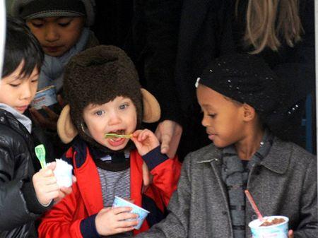 اخباربازیگران,اخبارهنرمندان,6 فرزند آنجلینا جولی و برد پیت