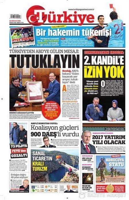 اخبار,اخبار فرهنگی وهنری,روزنامه ترکیه