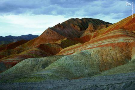 اخبار,اخبارگوناگون,کوه های رنگی درچین