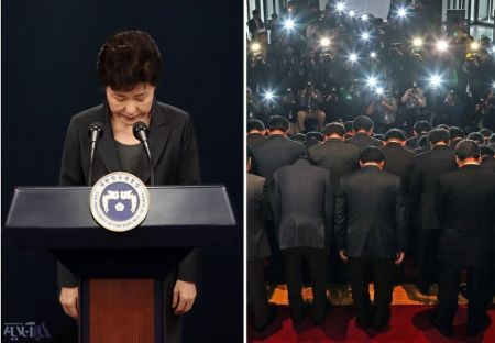 اخباربین  الملل,خبرهای بین  الملل , رییس جمهور کره جنوبی