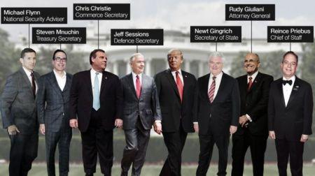 اخبار بین الملل,,خبرهای بین الملل, اولین تیم ترامپ