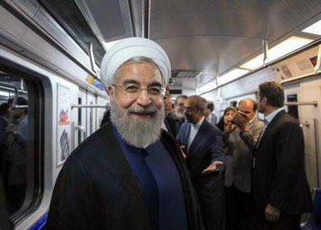 اخبارسیاسی ,خبرهای سیاسی ,روحانی در مترو کرج
