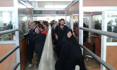 مرز مهران از طرف عراق کاملا بسته است