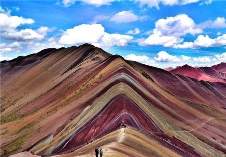 اخبار,اخبارگوناگون,کوههای رنگی در پرو