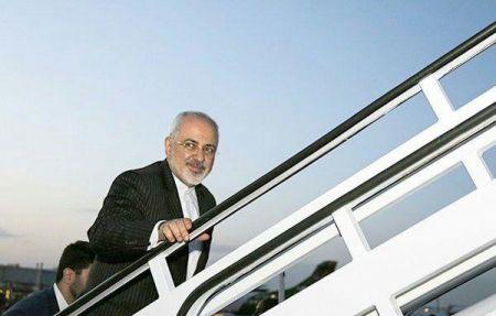 ظریف در صدر بزرگترین هیئت ایرانی در راه توکیو/ سفر