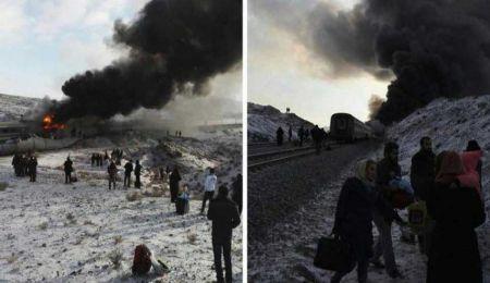 دلیل سانحۀ برخورد دو قطار در سمنان اعلام شد