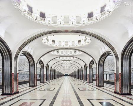 اخبار,اخبار گوناگون,زیباترین متروی دنیا
