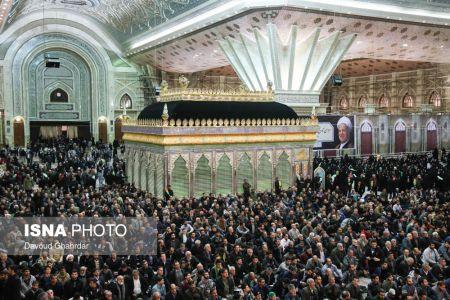 مراسم هفتمین روز درگذشت آیت الله هاشمی رفسنجانی / تصاویر