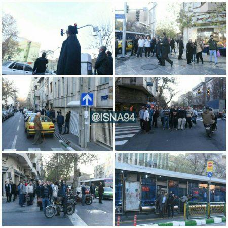 تیراندازی ممتد ضدهوایی در مرکز تهران/ هدف ساقط شد