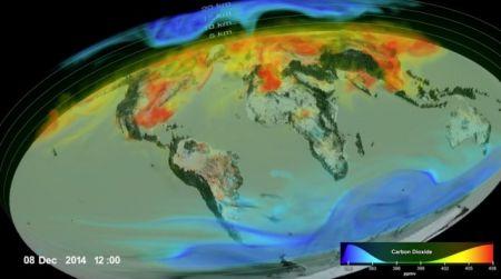 اخبارعلمی,خبرهای  علمی,انتشار دیاکسیدکربن در جو