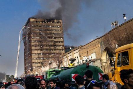 آتشنشانها فریاد زدند نروید اما مردم رفتند